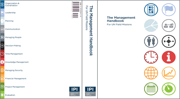 With A Number Of Practitioners Researchers And Experts To Produce One Kind Handbook On Management For Civilian Staff In UN Peace Operations