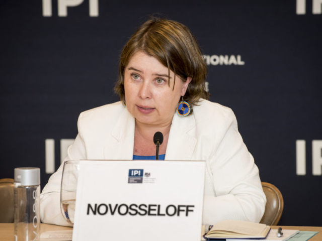 Dr. Alexandra Novosseloff - IPI