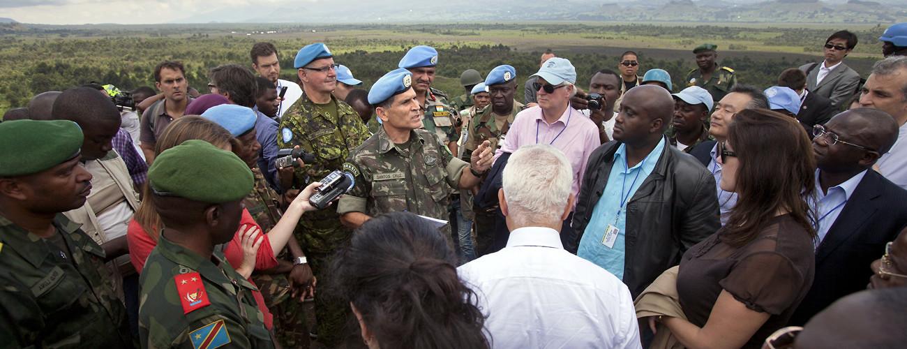 UN Security Concil visit to Goma