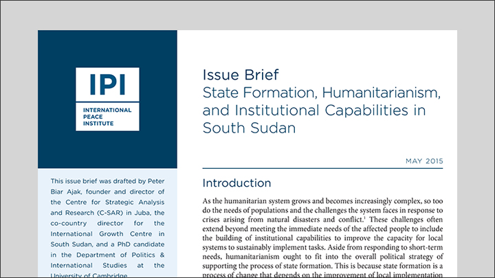 sudan brief 1