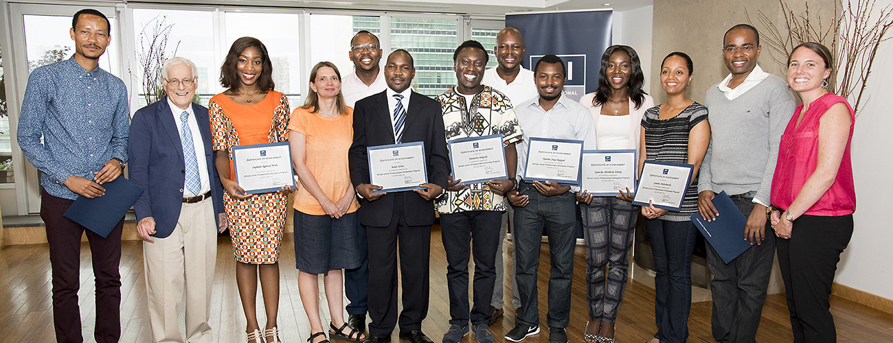 African Junior Fellows Assess the Role of the UN