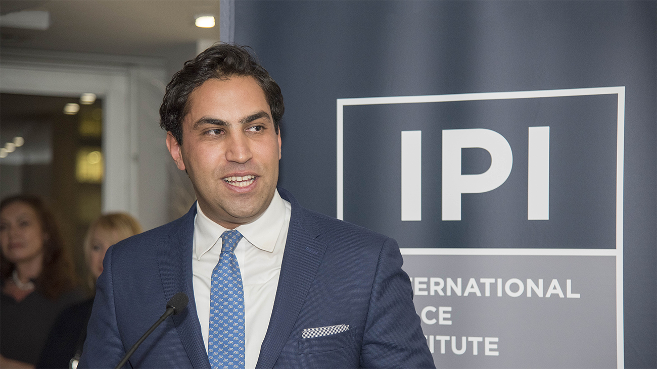 """Ahmad Alhendawi alhendawi: investment in youth """"ticket to a better future"""