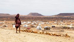 A Somali refugee at a camp in Ethiopia, August 2011. (UN Photo/Eskinder Debebe)
