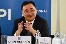 Foreign Minister Purevsuren Lundeg of Mongolia